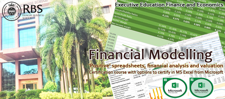 Financial Modeling Course for working executives/professionals/students
